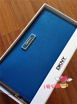 超值推荐:DKNY 纯牛皮十字纹长款钱包 带礼盒送人体面