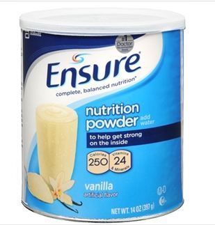 美国直邮 雅培安素ENSURE成人 老人调理全面均衡高营养粉素 397g