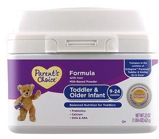 美国直邮 Parent's Choice二2段婴儿奶粉623g