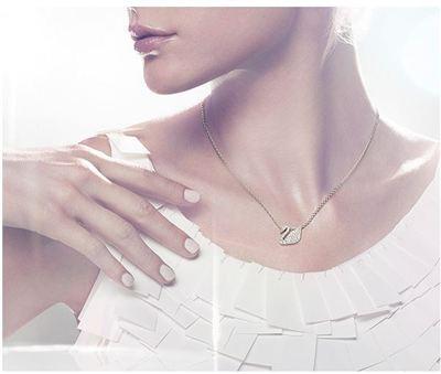 美国现货Swarovski Swan Pendant经典天鹅项链 1802295