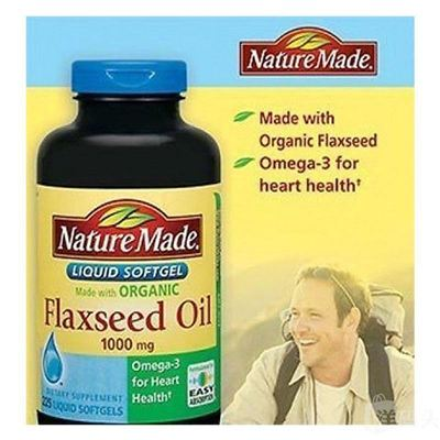 Nature Made Flaxseed Oil 有机亚麻籽油 300粒