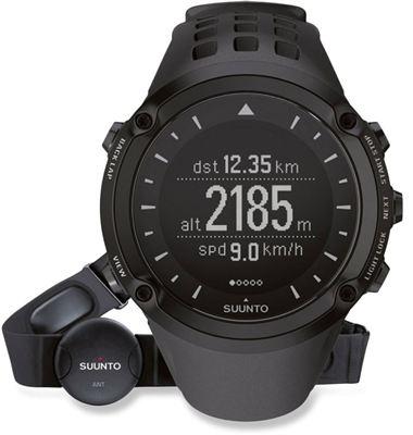 SUUNTO颂拓Ambit户外高端腕表GPS 心率 3D罗盘 天气预测 心率带