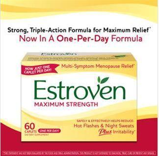 Estroven® Maximum Strength女性更年期强效营养素/夜汗/潮热60粒