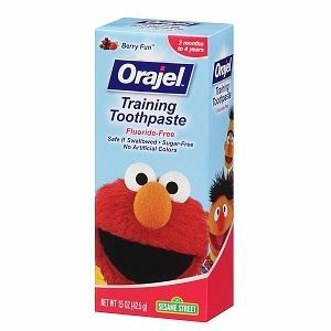 Orajel toddler training toothpaste 欧乐婴幼儿童牙膏 42.5g