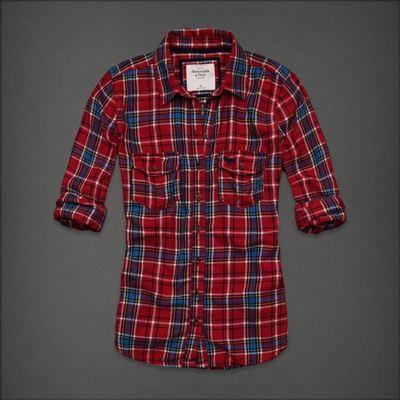 美国正品国内现货 AF经典女士格子全棉衬衫Hailey 三色入