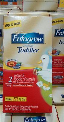 美赞臣Enfagrow PREMIUM Toddler 金樽2段 经济装1080克
