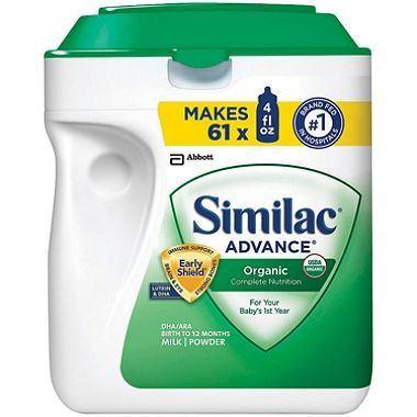 美国直邮 雅培Similac1段一段金盾有机奶粉 婴幼儿配方奶粉 963克
