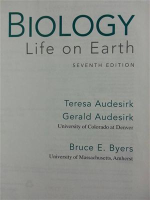 Biology life on earth ( Seventh Edition)