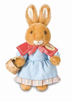 美国包邮七夕礼物!爱情彼得兔先生夫人peter rabbit毛绒娃娃情侣