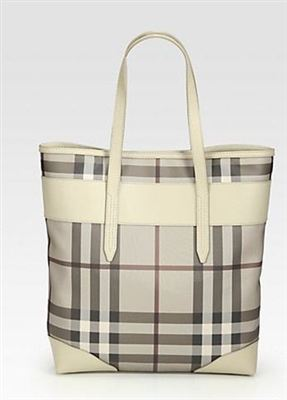 Burberry Marlow Mixed-Media Tote巴宝莉大包