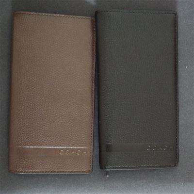 【美国包税直邮】COACH 74275男式长款钱包