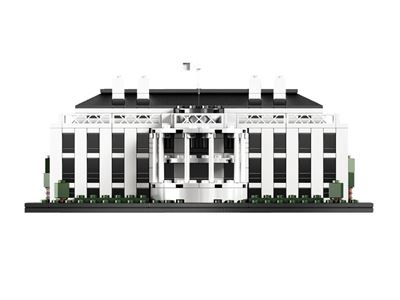 LEGO乐高 Architecture 21006 白宫积木