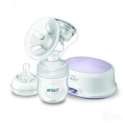 直邮包邮 2013新款飞利浦新安怡AVENT自然原生电动吸奶器自动吸乳