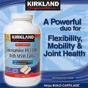 Kirkland Signature 葡萄糖胺 (Glucosamine )