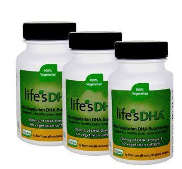 [Superdad]美国Life's DHA孕妇海藻油60粒 3瓶装